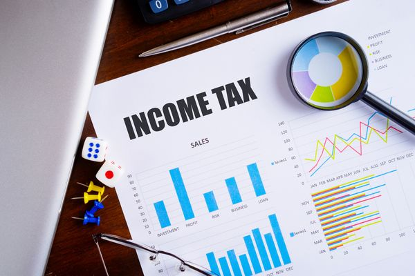 What are income tax and its type